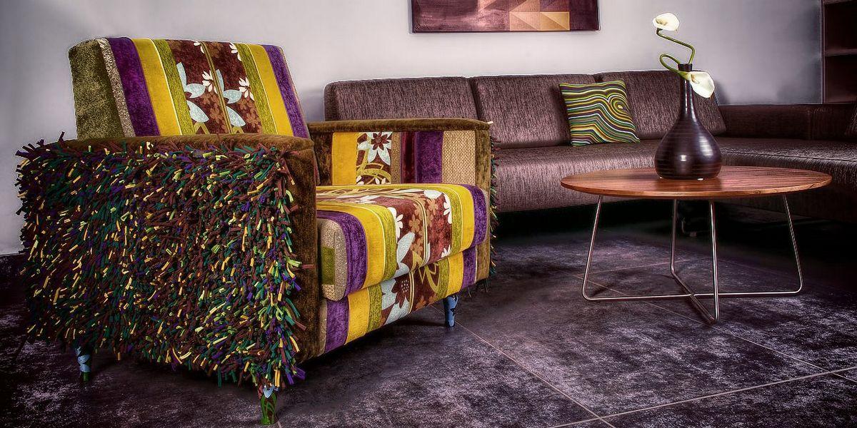 fotel MooP v2 - rozkładany jednoosobowy fotel - stylizacja