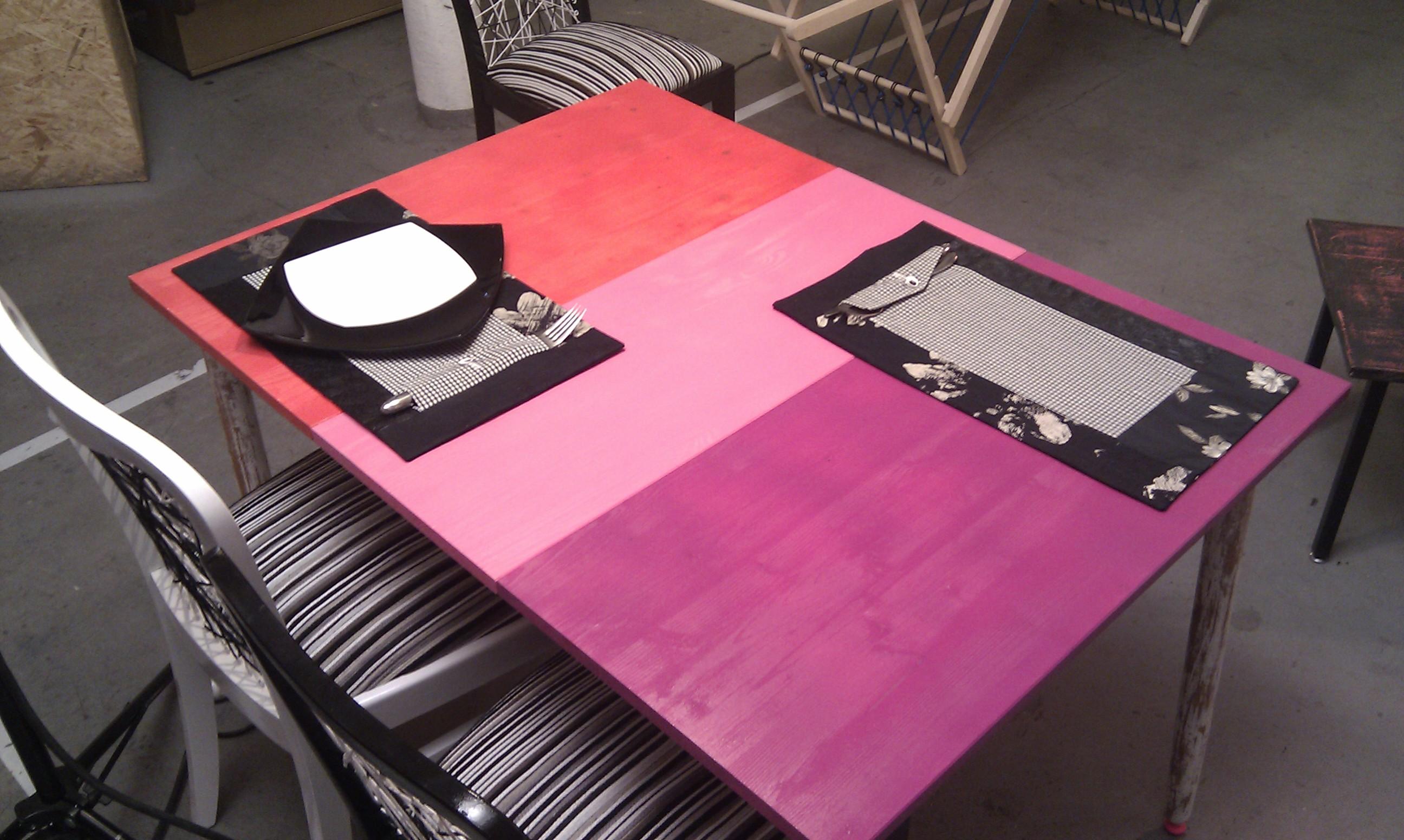 podkładki tekstylne z kieszonką na sztućce