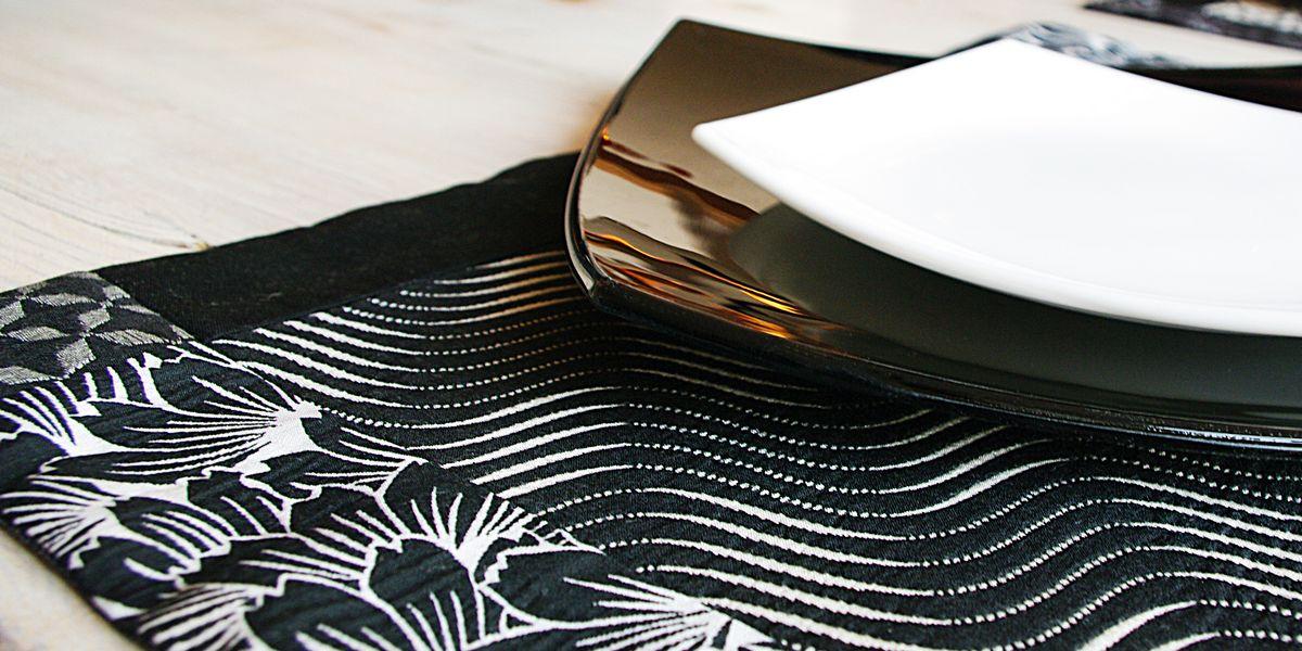 zdjęcie serii podkładek tekstylnych