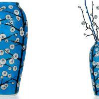 """zdjęcie wazonu """"blue cotton"""""""